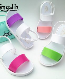 kids shoes Girls boys Jelly Sandals summer Princess Lovely Soft Comfort shoes Toddler Girl Kids Sandals Beach Sandals Kids 1