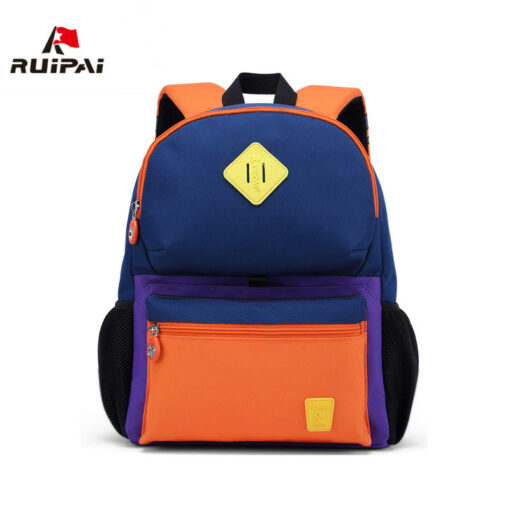 RUIPAI Nylon Children Backpacks Orthopedic School Bags for Children Primary School  for Girls Boys Kid kindergarten Backpacks