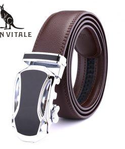 Belts Men Belt Genuine Leather Cinturones De Hombres Girdle Fashion Designer For Jeans Casual 35Mm Clothing Accessories Apparel