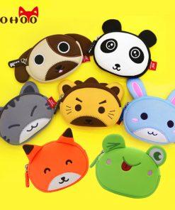 Nohoo Cute Coin Purse Kids Wallet Bag Coin Pouch Children's Purses Holder Girl Coin Wallet Boy's Wallet Women Earphone Box