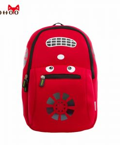 NOHOO Waterproof School Bags for Teenagers Car Pattern Fashion Children Backpack Large Capacity Kids Backpack School for Boy 1