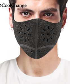 CoolChange Cycling Face Mask Cover Bike Anti-dust Breathable Mask PM 2.5 Protection Mouth-Muffle Soft Bicycle Training Mask 1