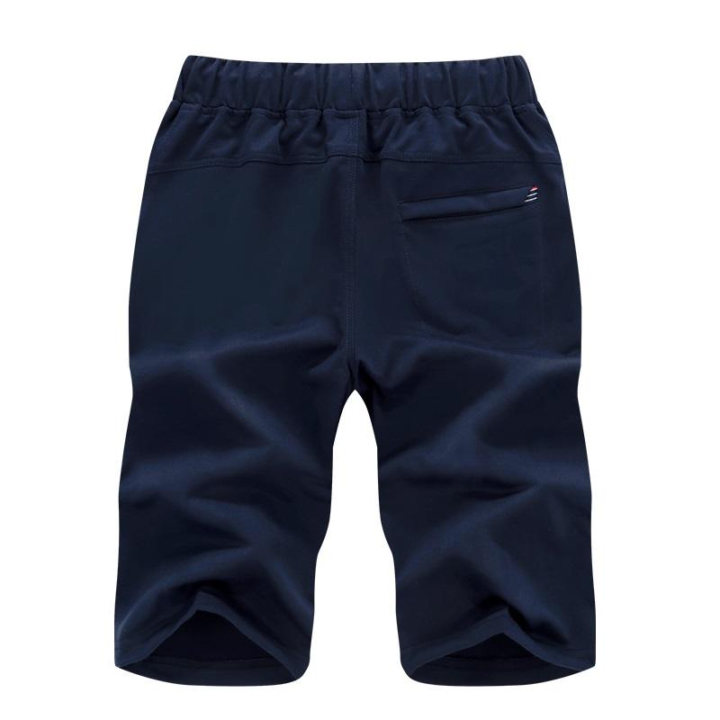 ASALI 2018 Beach Short Men Summer Mens Drawstring Pocket NEW YORK Embroidered Shorts Casual Loose Elastic Short Pants Men K02 1