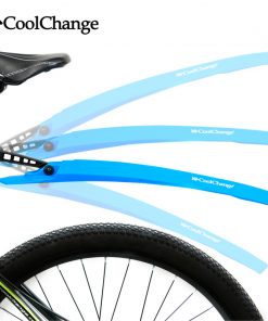 CoolChange Bike Fender Bicycle Fenders Cycling Mountain Mud Guards Mudguard Set 4 Colors 1