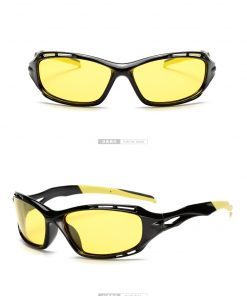 LongKeeper Hot Sale Night Driving glasses Anti Glare Glasses For Safety Driving Sunglasses Yellow Lens Night Vision Goggles 1004 1