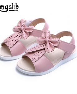 Girls leather party shoes PU Leather bowknot Princess toddler Girls Casual Shoes Girl Sweet Princess Shoes Baby Dance Shoes