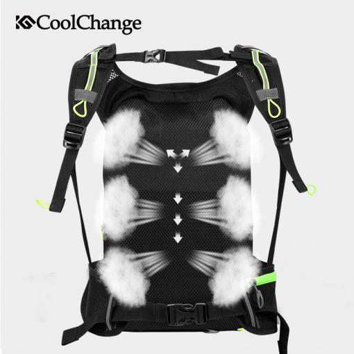 CoolChange Bike Bag Ultralight Waterproof Sports Breathable Backpack Bicycle Bag Portable Folding Water Bag Cycling Backpack 2