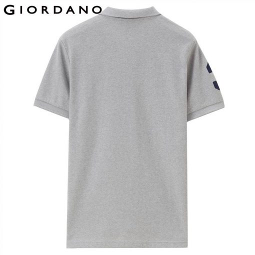 Giordano Men Polo Shirt Men Napoleon Embroidery Polo Homme Pattern Polo Camisa Shirt Masculina New Arrival Polo Shirts Male 2