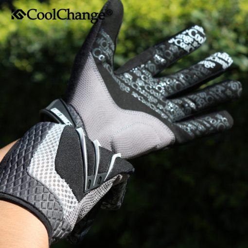 CoolChange 2016 Touch Screen Windbreak Warm   Cycling Glove For Man Woman MTB Road Motocross Glove Mountain Bike Bicycle Gloves 4