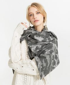 Scarves Women'S Scarf Winter Warm Fashionable Shawl Palestine Luxury Brand Chiffon Cashmere Plaid Pashmina For Dress Scarfs 1