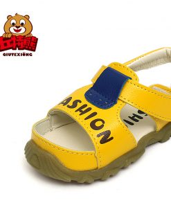 Summer Sandals Kids New Quality Leather Sandals Boy Children Shoes Non-slip Beach Sandals Kids Shoes for Girl 2018 Boys Shoes