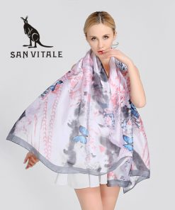 Scarves Women'S Silk Scarf Neck Hijab Polka Dots High Quality Women Fashion 2018 Beige Luxury Brand Bohemian Crinkle Hijab Twill