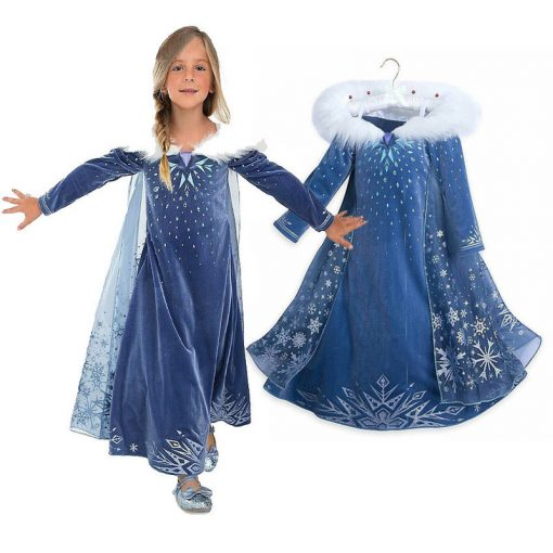 LZH Elsa Dress For Girls Cinderella Dress Girls Party Dresses Easter Carnival Costume For Girls Princess Dress Kids Clothing 3