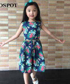 COSPOT 2018 New Rush Sale Girls Dress Baby Dresses Summer Party Princess Vestidos A-line Girl Dresses Girls Floral Dress C50