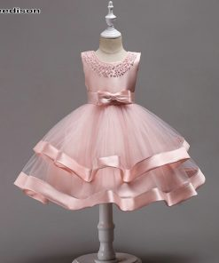 Yeedison Girls Dresses for Party and Wedding Kids Dresses for Girls Ball Gowns for Children Princess Dress Girls Costumes