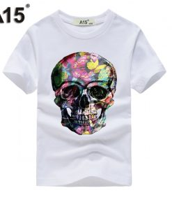 A15 tshirt 3D Short Sleeve t-shirt Kids Girl t shirt Boy Summer 2018 tshirts Cotton Tops Teenage Funny t thirts Tee 8 10 12 Year
