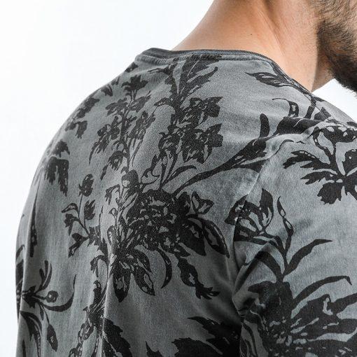 SIMWOOD 2018 Summer Fashion Printed T-Shirts Men 100% Pure Cotton Tops Tees Slim Fit High Quality Brand Clothing 180046 5