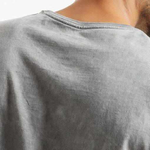 SIMWOOD 2018 Brand Fashion Casual Men T shirt Summer Short Sleeve O-neck Letter Print Slim T shirt Mens Tops Tee TD017112 3