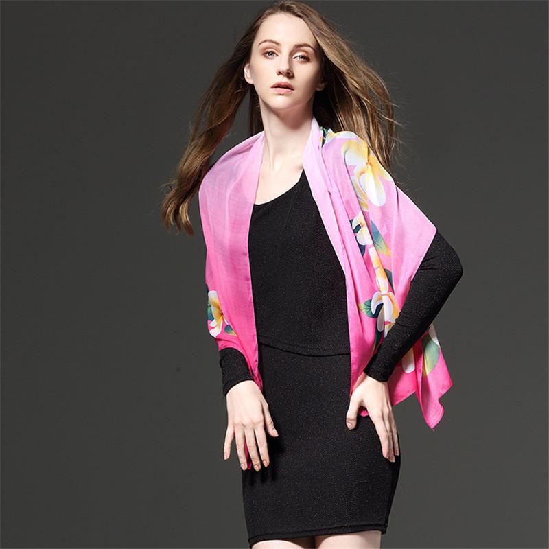 Scarves Women'S Silk Scarf For Ladies Hijab Polka Dots High Quality Women Fashion 2018 Neck Luxury Brand Bohemian Crinkle Hijab 1