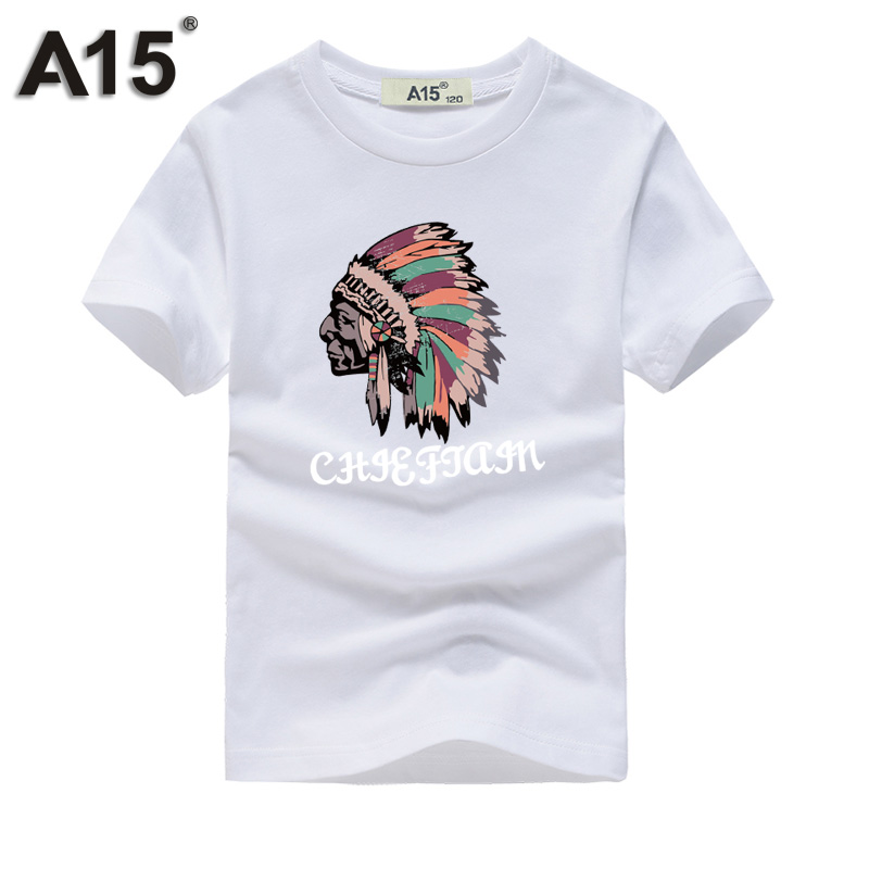 A15 Funny T Shirts Kids Girl Boy New Fashion Brand Clothing Summer 2018 Cool Design Print Short Sleeve Cotton Casual Tee Outfits