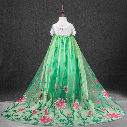 LZH Elsa Dress For Girls Cinderella Dress Girls Party Dresses Easter Carnival Costume For Girls Princess Dress Kids Clothing 5