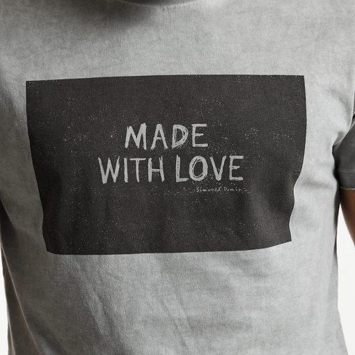 SIMWOOD 2018 Brand Fashion Casual Men T shirt Summer Short Sleeve O-neck Letter Print Slim T shirt Mens Tops Tee TD017112 2