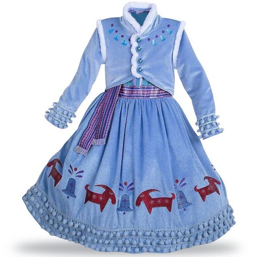 LZH Elsa Dress For Girls Cinderella Dress Girls Party Dresses Easter Carnival Costume For Girls Princess Dress Kids Clothing 2