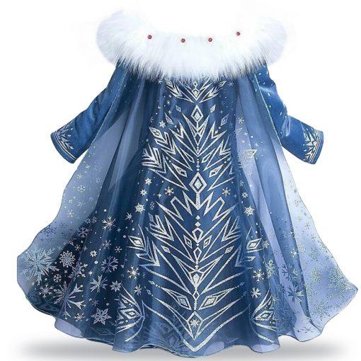 LZH Elsa Dress For Girls Cinderella Dress Girls Party Dresses Easter Carnival Costume For Girls Princess Dress Kids Clothing 1