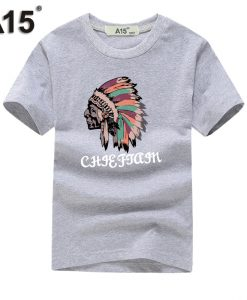 A15 Funny T Shirts Kids Girl Boy New Fashion Brand Clothing Summer 2018 Cool Design Print Short Sleeve Cotton Casual Tee Outfits 1