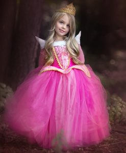 Girl Sleeping Beauty Aurora Princess Costume for Kids Girls Dress Children Party Cosplay Costume Summer Briar Rose Dress Vestido 1