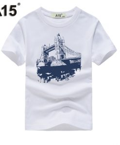 Boys Clothes Summer Tee Shirt Short Sleeve Toddler Girl tshirt Teenage t-shirt Kids t shirt for Boys Clothing Size 10 12 14 Year