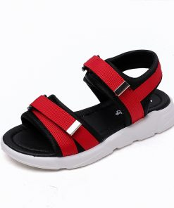 Kids Shoes Boys Girls Sandals Summer 2018 Boy Cloth Beach Sandal Children Fashion Casual Flat Girl Brand Soft Black Shoe