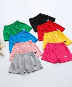 New summer baby girls boys shorts 10 colors cotton shorts for girls boys brand kids children beach shorts baby clothes 1