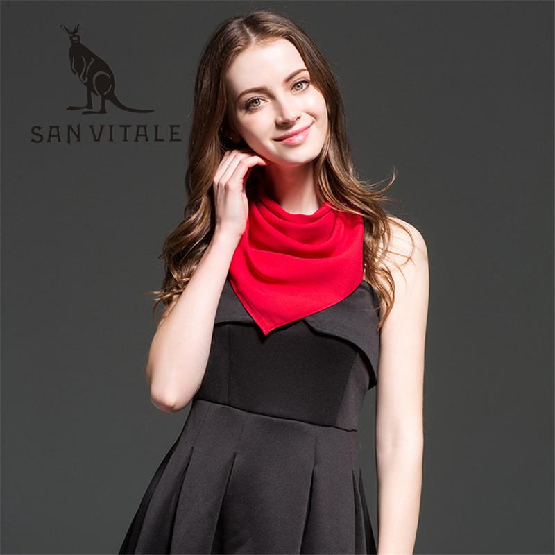 Scarves Women Silk Scarf Leopard Print Head Scarf Beach Dress Chiffon Square Designer Twill Fashion Cotton 2018 New Spring Dress
