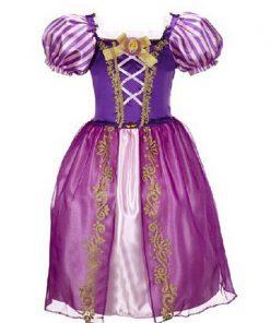 New  Baby Girls Cinderella Dresses Children Snow White Princess Dresses Rapunzel Aurora Kids Party Halloween Costume Clothes