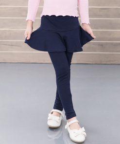 V-TREE 2017 spring autumn girls leggings pants for girls kids pants cotton children skirt leggings baby trousers clothing 1