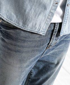 SIMWOOD 2018 Spring  Summer New Dark Wash Ankle-Length Jeans Men Slim Fit Vintage Basic Blue High Quality Brand Clothing 180057 1