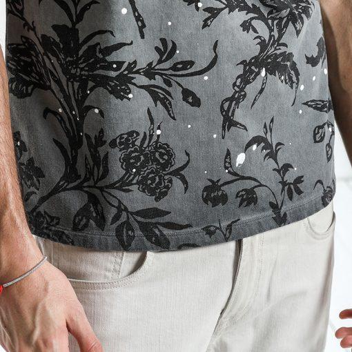 SIMWOOD 2018 Summer Fashion Printed T-Shirts Men 100% Pure Cotton Tops Tees Slim Fit High Quality Brand Clothing 180046 3
