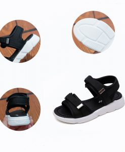 Kids Shoes Boys Girls Sandals Summer 2018 Boy Cloth Beach Sandal Children Fashion Casual Flat Girl Brand Soft Black Shoe 1