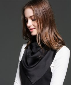 Scarves Women Silk Scarf Leopard Print Head Scarf Beach Dress Chiffon Square Designer Twill Fashion Cotton 2018 New Spring Dress 1
