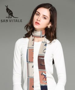 Scarves For Women Silk Scarf Bufanda Mujer Shawl Infinity Circle Crinkle Hijab Plaid Chiffon Designer Twill Fashion Cotton 2018