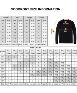 COODRONY Shirt Men 2018 Spring Summer New Arrival Casual Cotton Shirts Striped Camisa Masculina Plus سایز 4XL Chemise Homme 8702 1