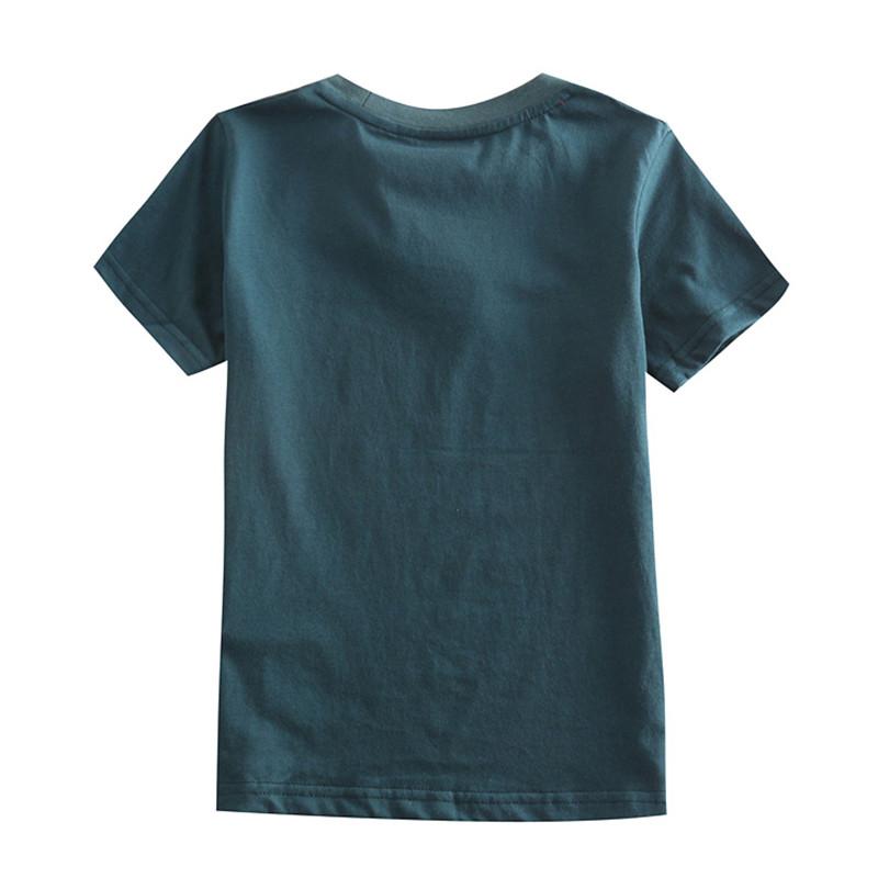novatx C5049 2017 wholesale blue kids children clothes new arrival short sleeve t-shirt for baby boys t-shirt spring autumn hot 1