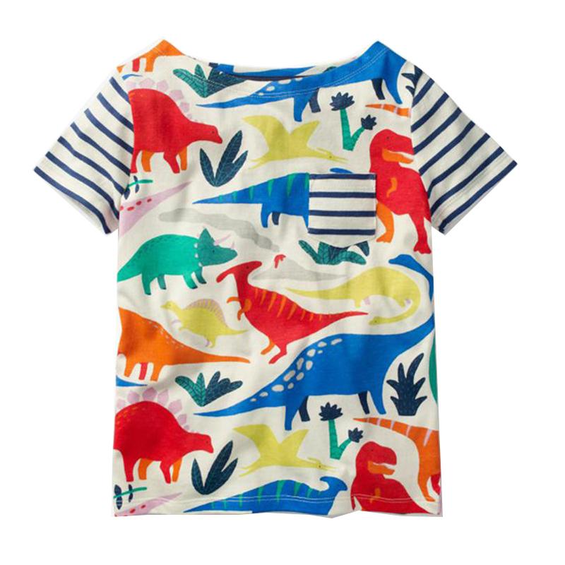 Baby Girls T-shirt Kids Clothes 2018 Brand Children Cartoon T shirts for Girls Costumes Unicorn Summer Girls Tops & Tees 1