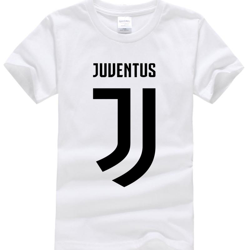 2017 New Juventus print Girls Boys T Shirt short bianconeri Camiseta fans club T-Shirt Casual Italian Gianluigi Buffon Tops Tees