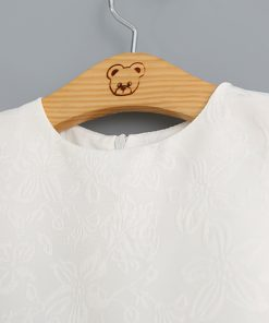 Humor Bear Girls Dress Cartoon Cat Letters Princess Dresses Sleeveless Gril Clothes Children Dress Party Dresses 1