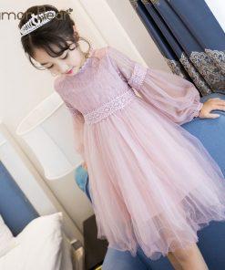 Humor Bear 2018 Autumn&summer Girl Dress Brand Girls Clothes Princess Dress Kids Clothes Baby Children Clothes Birthday Dress