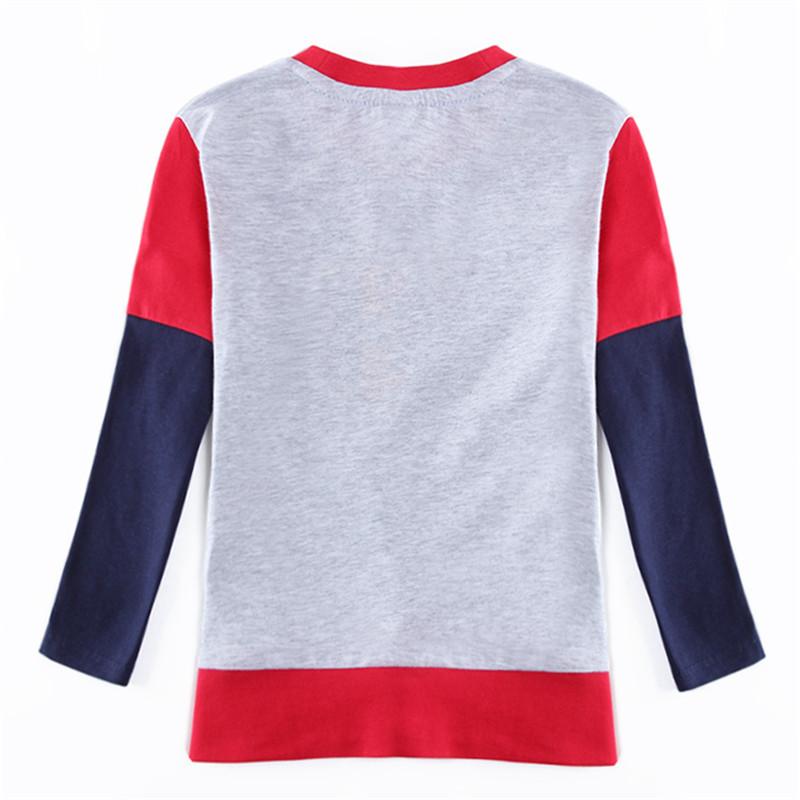 novatx A5650y Retail  baby boys long sleeves t-shirt for baby boys clothes boys shirts plaid casual t-shirt  2016 hot sale 1