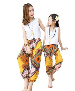mother daughter dresses family matching clothes summer 2018 corresponding family fitted mom and daughter family set clothes