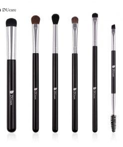 DUcare Makeup Brushes 6 PCS Eyeshadow Brush Blending Eyebrow Make Up Brushes Pony Hair Synthetic Bristles Beauty Cosmetics Kits 1